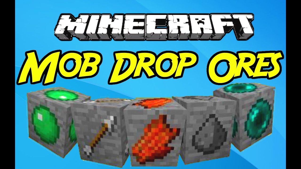 Mob Drop Ores Mod 1.9