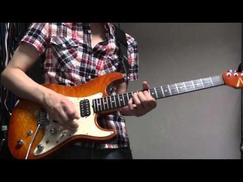 [Guitar Cover]LiSA/ソードアート・オンラインOP「crossing field」を弾いてみた。