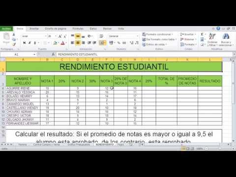 Cómo Hacer Una Tabla En Excel Escribir Y Aplicar Formato A Las Celdas Youtube