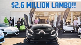 BUYING A $2.6 MILLION LAMBORGHINI CENTENARIO!!