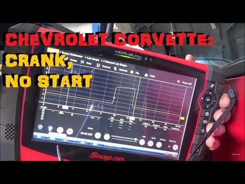 Chevrolet C4 Corvette - No Start Diagnosis