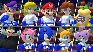 Mario & Sonic at the Olympic Games Tokyo 2020 - All Super Strikes (Karate)
