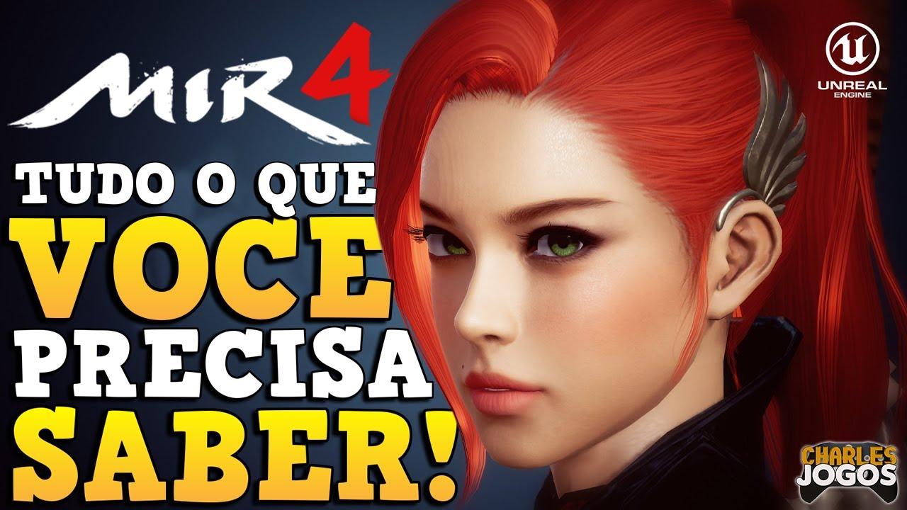MIR4 | O NOVO MMORPG FREE TO PLAY DA BLOCKCHAIN| VALE A PENA JOGAR? (PC/MOBILE - 2021) ????????????