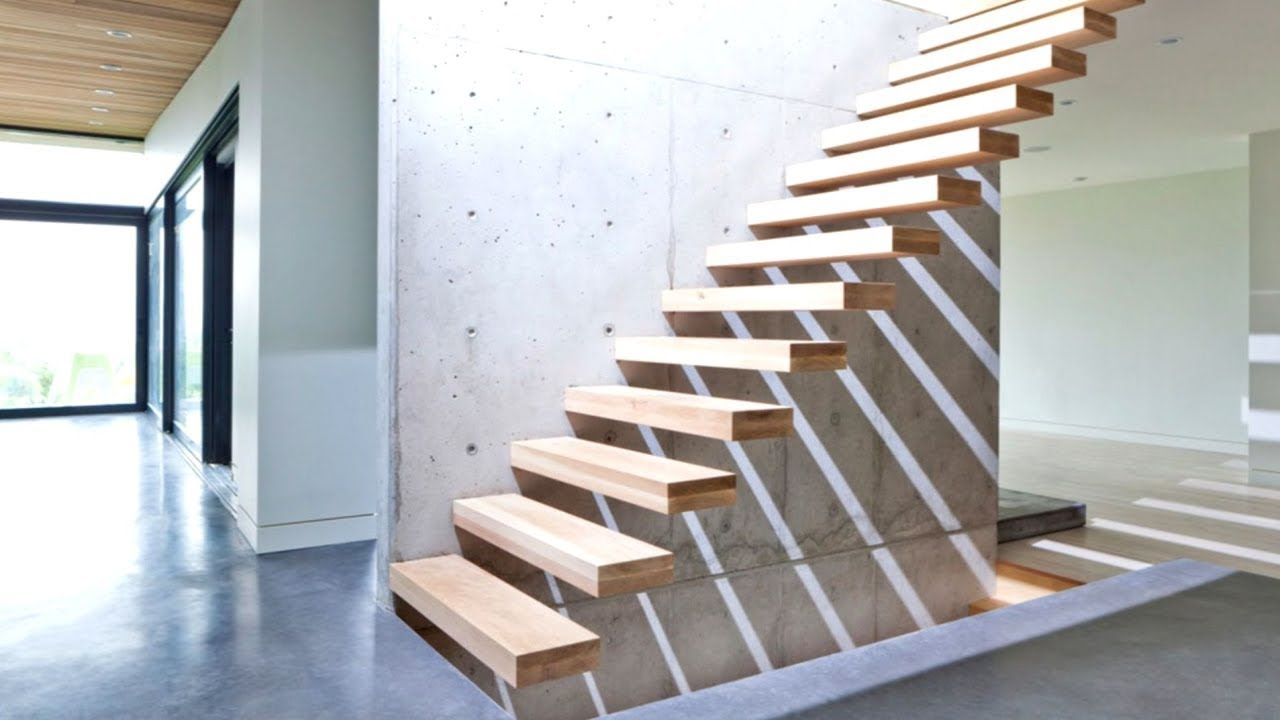 24 Best Modern Staircase Designs - YouTube