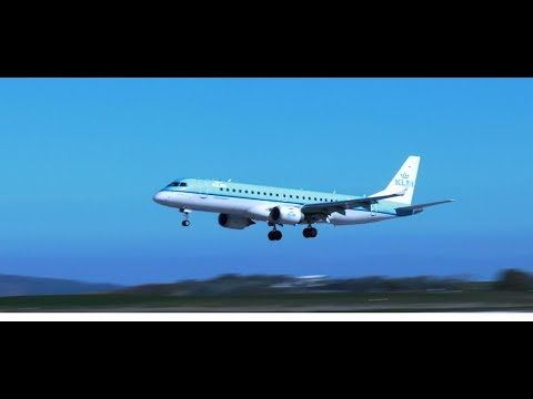 Inverness Airport - KLM 2nd daily flight to Amsterdam