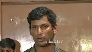 Vishal Meets Kamalhassan amidst his Tight Political Tour  | nba 24x7