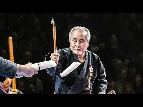 LE KOBUDO D'OKINAWA AU 33EME FESTIVAL DES ARTS MARTIAUX