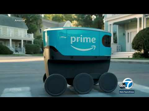 Amazon Scout: The self-driving robots now making deliveries in Irvine   ABC7