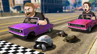 Who Can Build The SLOWEST Race Car Challenge! | GTA5