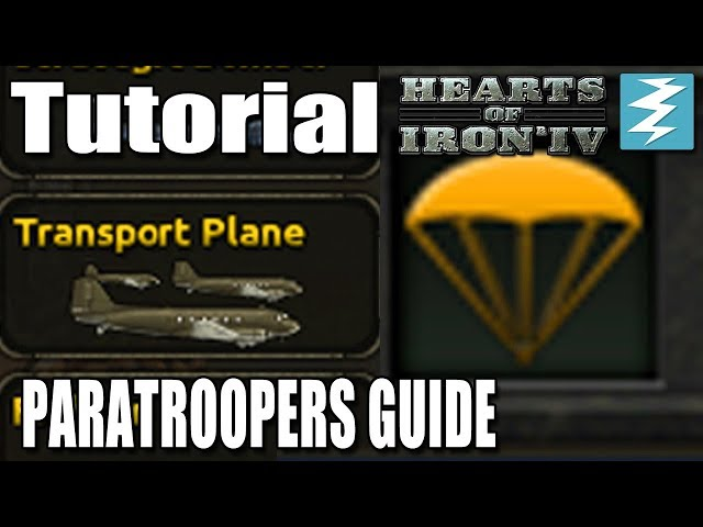 PARATROOPERS GUIDE - DAY 7# - Hearts of Iron 4 (HOI4)
