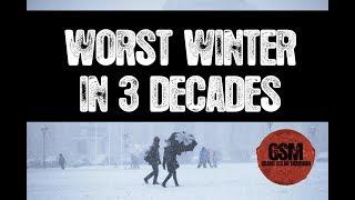 W O R S T Winter in THREE Decades #Austria  #Europe  #Snow