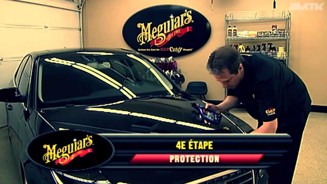 meguiar 39 s le nettoyage de votre voiture en 5 tapes youtube. Black Bedroom Furniture Sets. Home Design Ideas