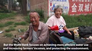 Helping Chinese Farmers Use Water More Efficiently