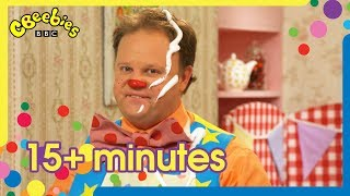 Mr Tumble's Making and Baking Compilation | +15 Minutes!