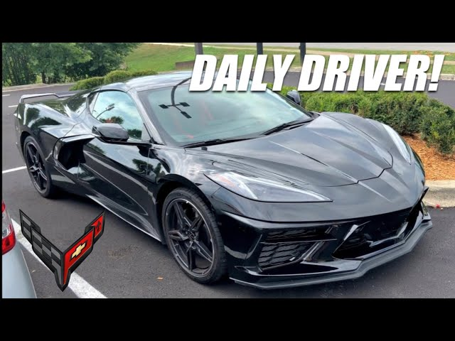 5 Reasons Why The C8 Corvette is The Ultimate Daily Driver!
