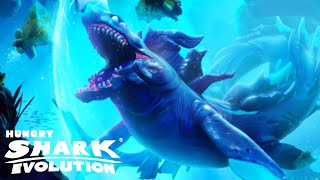 Brand New LUMINITE SHARK Unlocked!!! - Hungry Shark Evolution HD