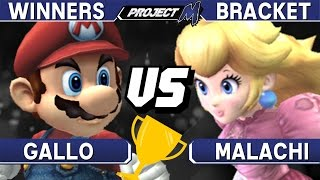 Project M - Gallo (Mario) vs Malachi (Peach) - Philly Championships 01 Winners