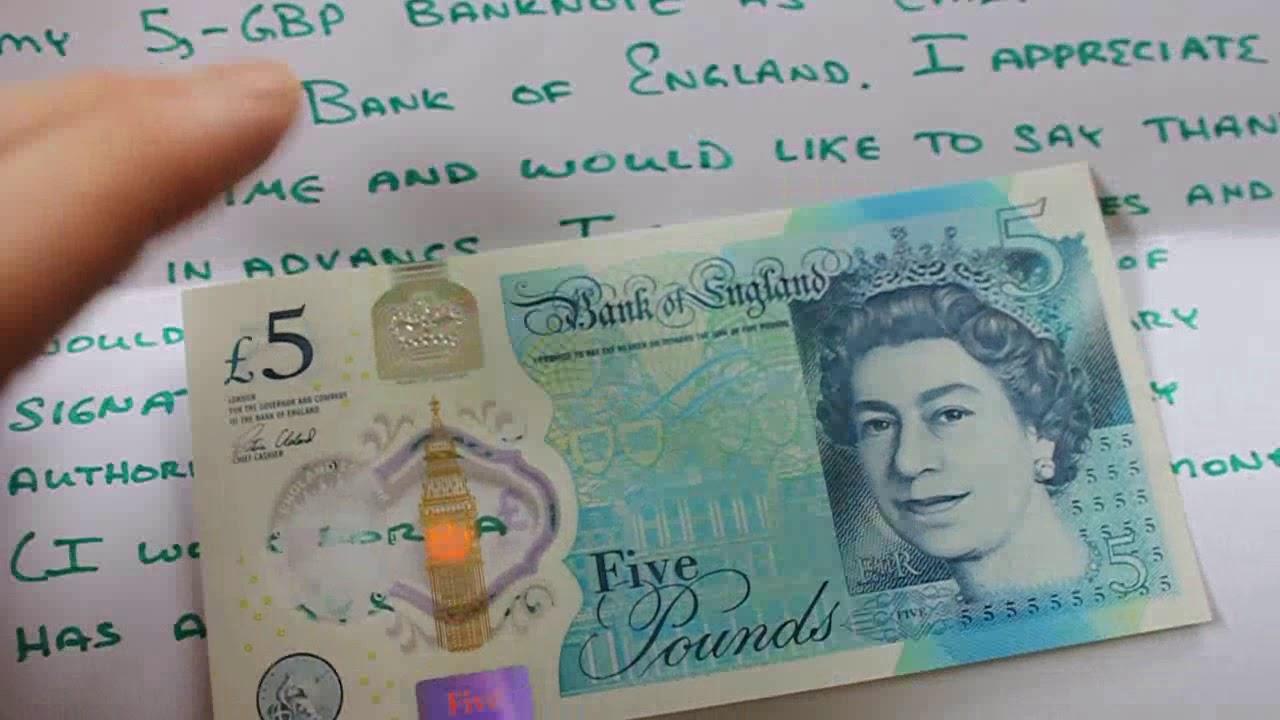 Bank Of England Chief Cashier Autograph Request Letter