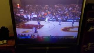 REACTION FAIL to Lebron Self Alley Oop in NBA Finals 2017!