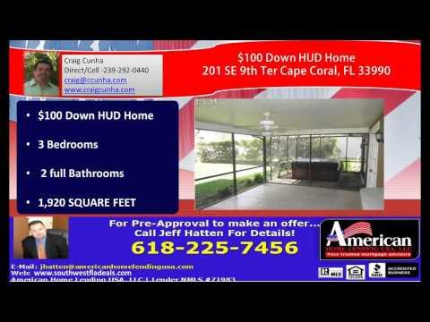 3 bedroom 2 bathroom house for sale Southwest Florida Cape Coral  Florida