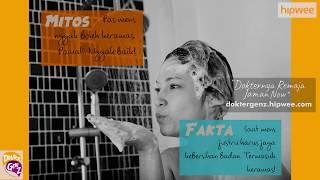 #hipweexdoktergenz - mitos vs fakta tentang menstruasi