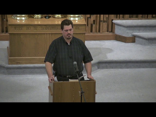 Sin and the Law - Sunday AM Adult Class - James Long