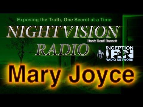 Mary Joyce - Secret Underground Bases - NightVision Radio