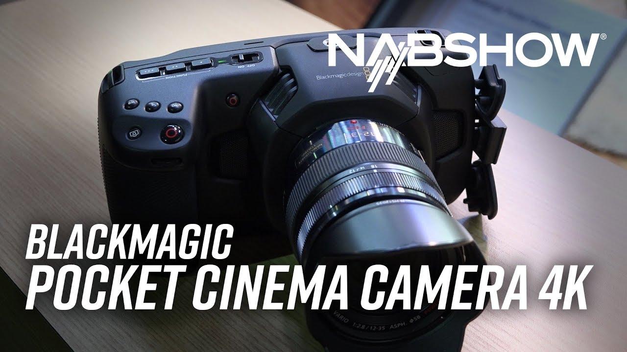 NAB 2018   Announcing Blackmagic Pocket Cinema Camera 4K