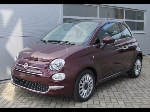 2016 new fiat 500 full review with testdrive and walkaround youtube. Black Bedroom Furniture Sets. Home Design Ideas