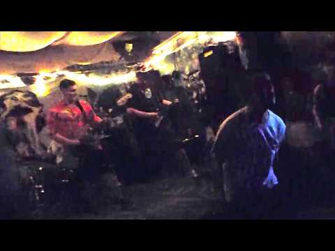 """SASP playing """"Carcinogens,"""" at 7th Circle Music Collective on May 26th 2017"""