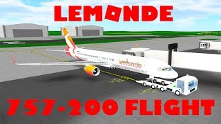 Roblox | LeMonde 757-200 Flight