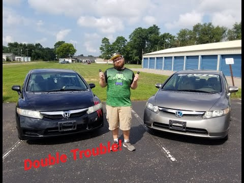 2010 Honda Civic LX Vs. 2008 Honda Civic Hybrid Which Is Better And Why!?