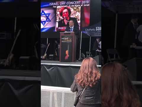 Rav Mendy Mirocznik At Salute To Israel Day Parade 2019