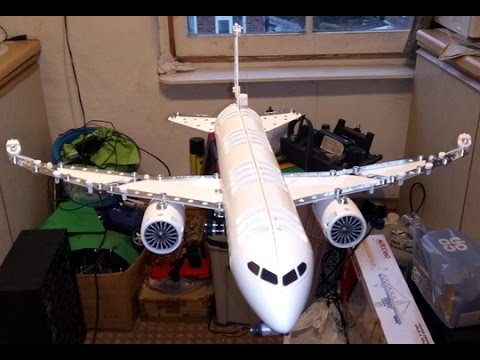 MECCANO MAKER SYSTEM BOEING 787 DREAMLINER (2016) POST BUILD REVIEW