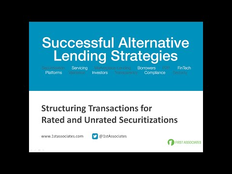 Structuring Transactions for Securitizations Webinar