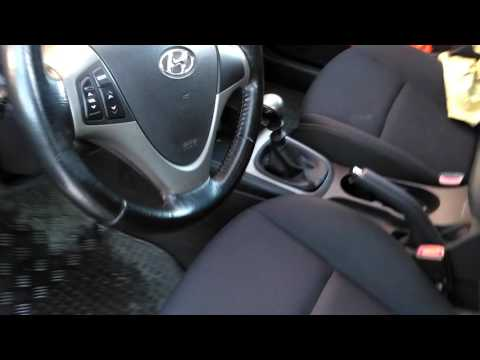 Hyundai i30 cold start 15C