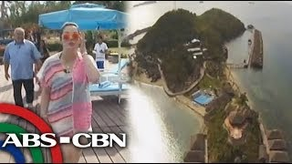 Kris tours Huma resort in Palawan