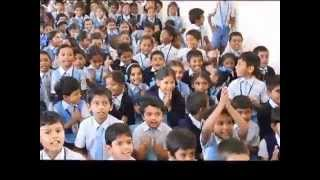 Laughter Yoga With School Children At Gyan Jyoti School, Bangalore