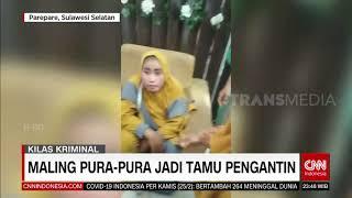 Maling Pura-Pura Jadi Tamu Pengantin | REDAKSI MALAM (25/02/21)