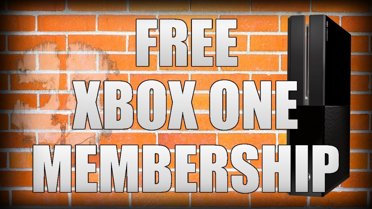 how to get free gold membership on xbox one