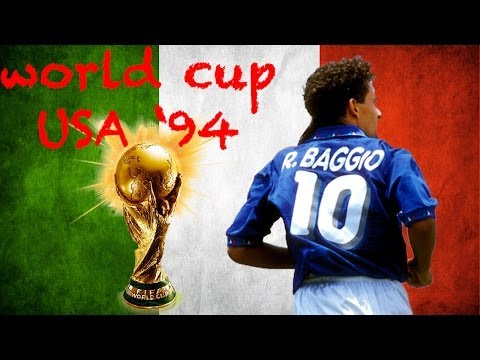 BAGGIO GOALS AND PENALTY WORLD CUP USA 94 - ROAD TO BRAZIL 2014