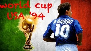 Download Video BAGGIO GOALS AND PENALTY WORLD CUP USA 94 - ROAD TO BRAZIL 2014 MP3 3GP MP4
