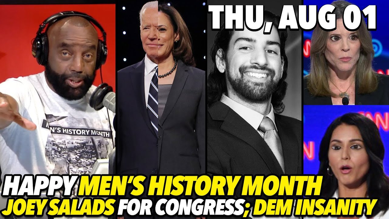 Jesse Lee Peterson Thu, Aug 1: Kicking Off Men's History Month! Saladino for Congress; And Much More