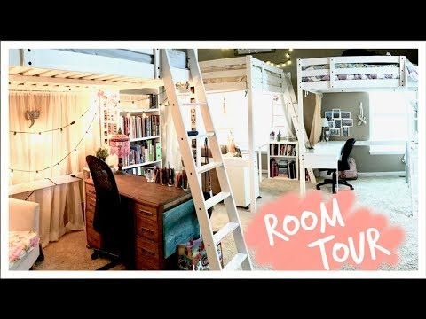 UPDATED Loft Bed Room Tour!! // Three Peas