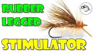 Rubber Legged Stimulator -- SALMON FLY version