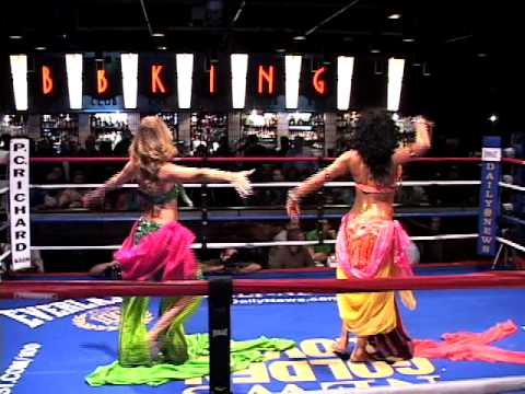 Belly Dancer Opening Number kicksoff the 83rd NY Daily News Golden Gloves Amateur Boxing