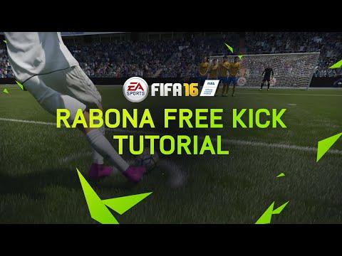 FIFA 16 Tutorial - Rabona Free Kick
