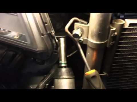 Chevy Equinox AC Condenser Tip 2011  YouTube