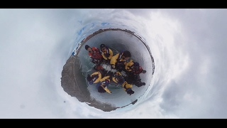 Antarctica 360°: Expedition to least visited part of Earth with panoramic camera