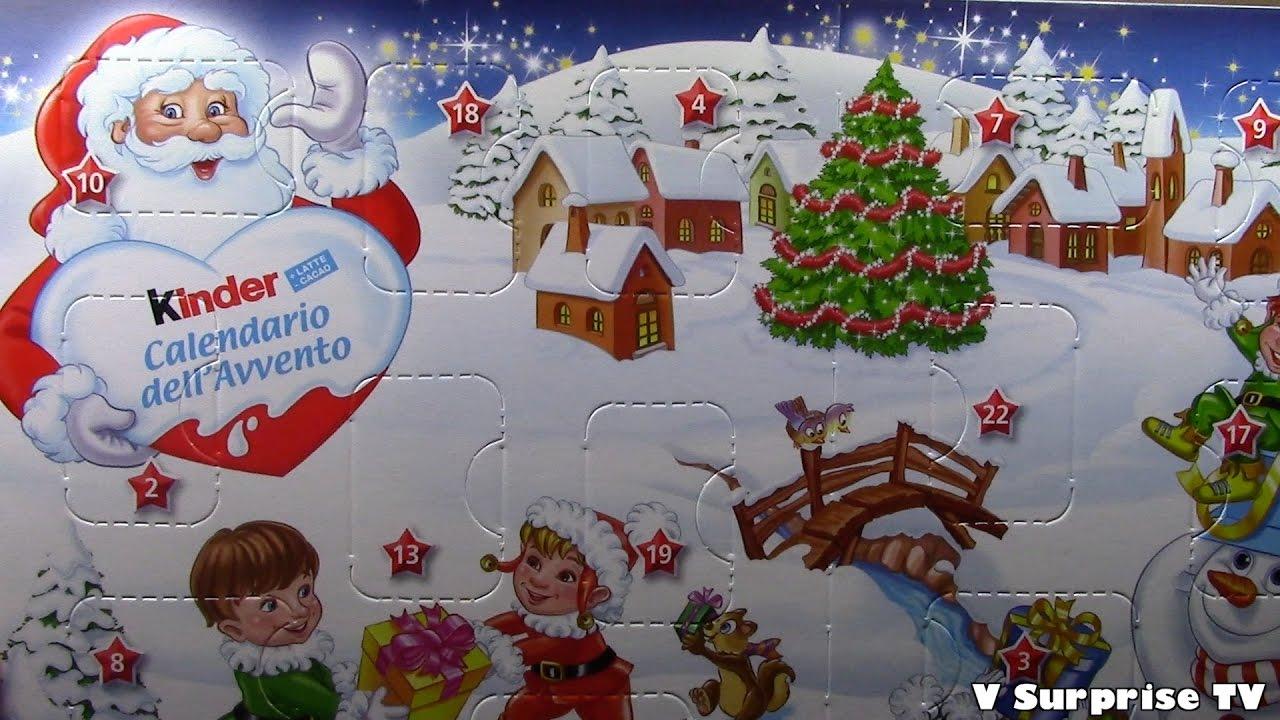 Calendario Dellavvento 2016 Kinder Sorpresa Huevos Oeufs Ovetti Di